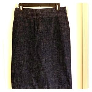 J crew denim skirt size 4